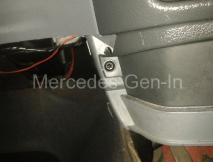 Mercedes Vito W639 Reverse Lamp Switch Adjustment 2