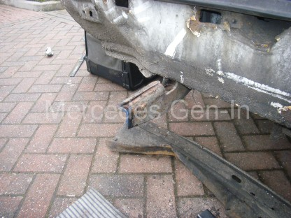 Mercedes Sprinter rear foot step repair 2