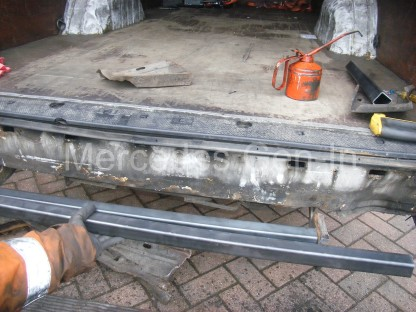 Mercedes Sprinter rear foot step repair 3