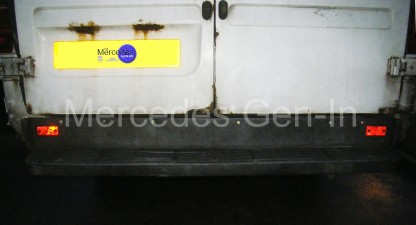 Mercedes Sprinter rear foot step repair 6