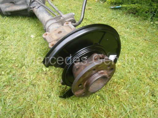 Mercedes rear axle replacement 4