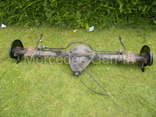 Mercedes rear axle replacement 10
