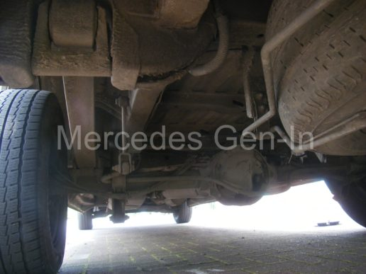 Mercedes rear axle replacement 1