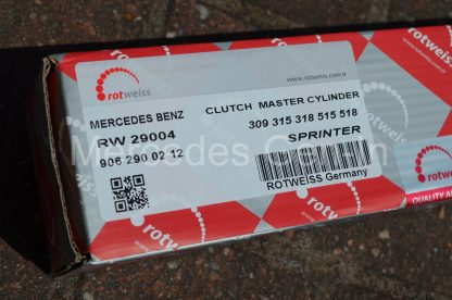 Mercedes Sprinter Crafter Clutch Master Cylinder Swap 18