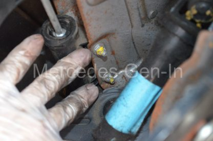Mercedes Sprinter Crafter Clutch Master Cylinder Swap 9